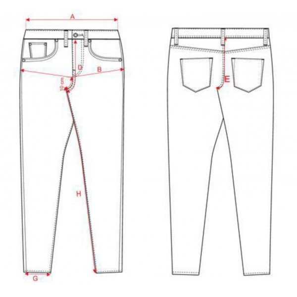 spodnie damskie big star rozmiary